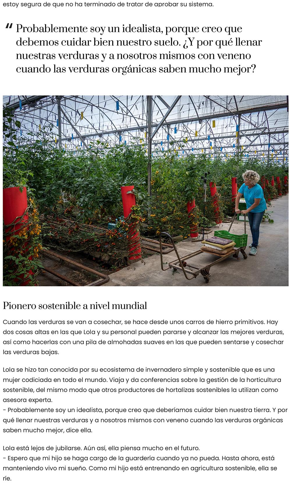 Reportaje de Clisol por el blog spainbyhanne de Dinamarca traducido al español